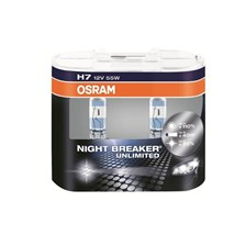 Osram Night Breaker Unlimited H7 12V 55W (2 szt.)