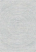 Dekoria Dywan Breeze Circles wool/cliff grey 200x290cm, 200x290cm