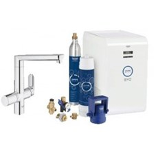 Grohe Zestaw startowy chrom Blue K7 Chilled and Sparkling 31346001